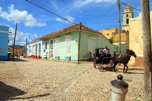Город Тринидад, Куба.