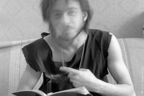 Поэт читает свои стихи. 1989 год.