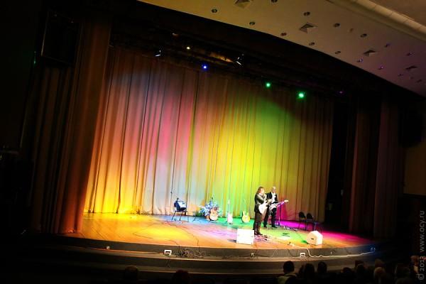 Концерт Виктора Зинчука в Лобне 4 февраля 2013  г. — общий вид.