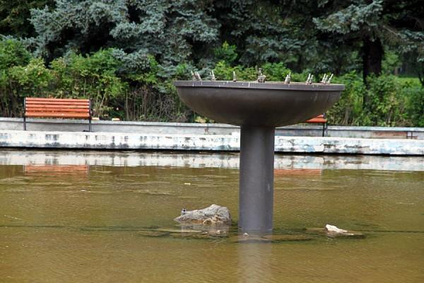 Пущинский фонтан.