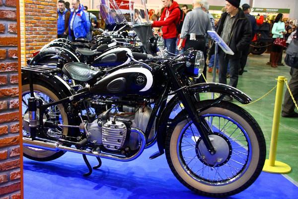 Мотоциклы на Олдтаймер-2015.