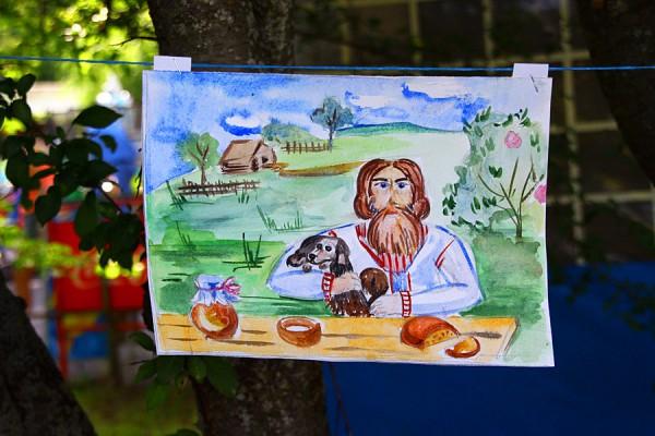 Детские рисунки с Мумуфества в Орле. 2015 год.