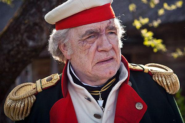 Брайан Кокс в роли Михаила Кутузова. Сериал «Война и мир», BBC.