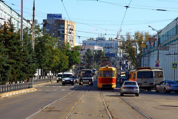 Общественный транспорт в Орле.