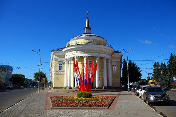 Здание театра Свободное пространство в Орле.